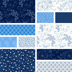 Danbury - Fat Quarter Bundle - 11FQs, 1 FQ Free!