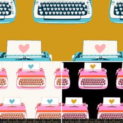 Ruby Star Society - Darlings 2 - Typewriters FQ Bundle - 3 FQs - PRE-ORDER DUE FEBRUARY