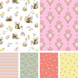 Easter Egg Hunt - *Fat Quarter Bundle* - PRE-ORDER DUE JANUARY/FEBRUARY