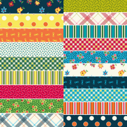 Five And Ten - *Complete Collection - 19 Fat Quarters and 1 FQ Free + Mystery Gift!* - PRE-ORDER DUE MAY