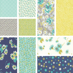 Flour Garden - Bundle of 10 Fat Quarters (4) - 1 FQ free!