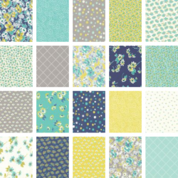 Flour Garden - Bundle of 20 Fat Quarters - 2 FQs free and Mystery Gift!