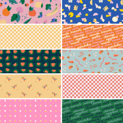 Ruby Star Society - Food Group - Bundle of 10 Fat Quarters (1) with 1 FQ Free! - PRE-ORDER DUE JULY/AUGUST