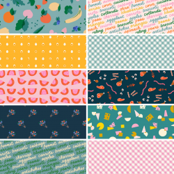 Ruby Star Society - Food Group - Bundle of 10 Fat Quarters (2) with 1 FQ Free! - PRE-ORDER DUE JULY/AUGUST