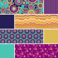 Henna - Complete Fat Quarter Bundle - 24 FQs with 2 FQs Free & Mystery Gift! - PRE-ORDER DUE SEPTEMBER