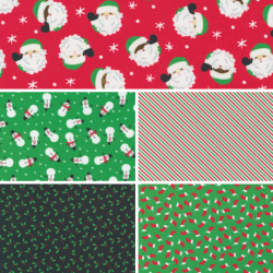 Holiday Essentials - Christmas - Bundle of 5 FQs (2) - PRE-ORDER DUE JUNE