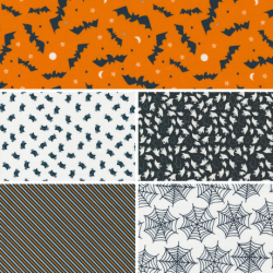 Holiday Essentials - Halloween - Bundle of 5 Fat Quarters (1) - PRE-ORDER DUE JUNE