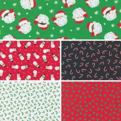 Holiday Essentials - Christmas - Bundle of 5 FQs (1) - PRE-ORDER DUE JUNE