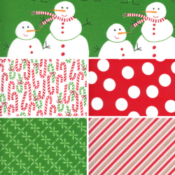 Merry And Bright - Bundle of 5 Fat Quarters (2)