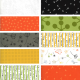 Quotation - Bundle of 10 Fat Quarters (1) - 1 FQ Free! - PRE-ORDER DUE DECEMBER