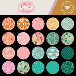 Ruby Star Society - Camellia - Complete Fat Quarter Bundle - 29 FQs with 2 FQs free and Mystery Gift! - PRE-ORDER DUE DECEMBER