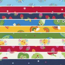 Rainbow Garden - *Bundle of 10 FQs (1) - 1 FQ Free* - PRE-ORDER DUE JANUARY