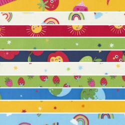 Rainbow Garden - *Bundle of 10 FQs (2) - 1 FQ Free* - PRE-ORDER DUE JANUARY