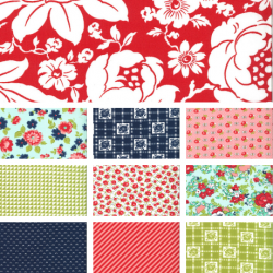 Shine On - Bundle of 10 Fat Quarters with 1 FQ Free - Traditional Colours - PRE-ORDER DUE NOVEMBER