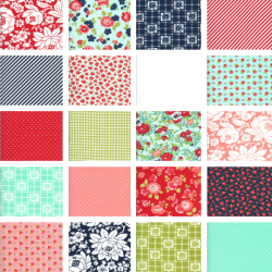 Shine On - Bundle of 20 Fat Quarters with 2 FQs Free - Traditional Colours!- PRE-ORDER DUE NOVEMBER