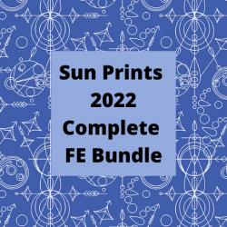 """Sun Prints 2022 - 10th Anniversary Collection - *Complete 10"""" Squares Collection* - PRE-ORDER DUE JANUARY"""