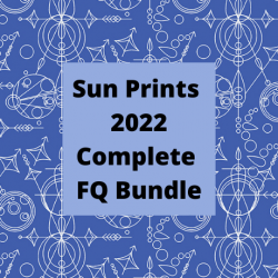 Sun Prints 2022 - 10th Anniversary Collection - *Complete Fat Quarter Collection - 27 FQs with 2 FQs Free and Mystery Gift* - PRE-ORDER DUE JANUARY