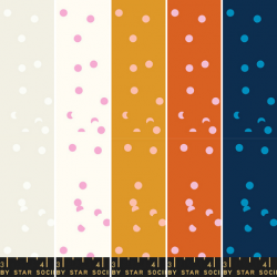 Ruby Star Society - Tarry Town - Hole Punch Dot Fat Quarter Collection - 5 FQs - PRE-ORDER DUE JUNE