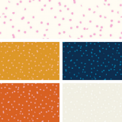 Ruby Star Society - Tarrytown - Hole Punch Dot Fat Quarter Collection - 5 FQs - PRE-ORDER DUE JUNE