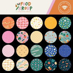 Ruby Star Society - Food Group - *Complete Fat Eighth Bundle - 29 FEs with 2 FEs Free!* - PRE-ORDER DUE JULY/AUGUST