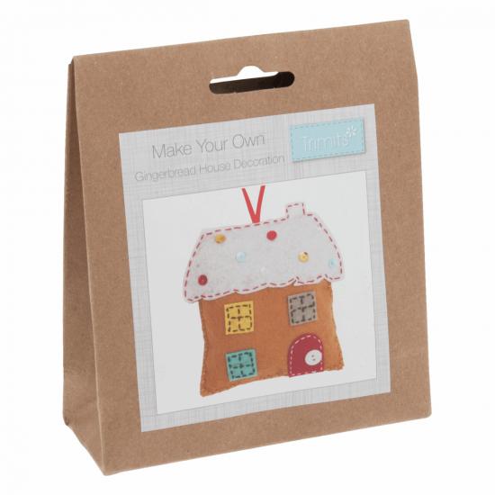Felt Kit - Gingerbread House