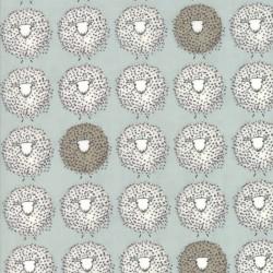 Darling Little Dickens - Blue Sheep - 1 Cut FQ
