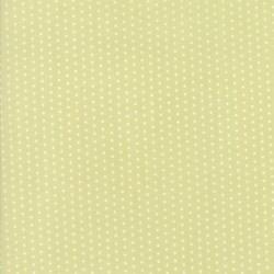 Darling Little Dickens - Spring Green Pin Dot - 2 Cut FQs